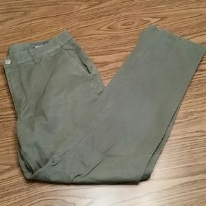 Bonobos slim fit pants,34x34, forest green